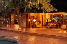 Tuningi Safari Lodge - outside lounge area