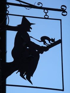 Witch Shop sign..
