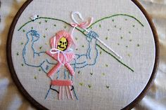 Skeletor/Little Bo Peep mash-up