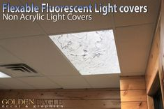 Flexible Fluorescent Light Cover Films by GoldenEagleOnline