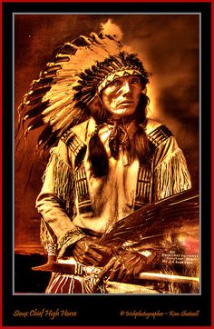"High Horse""Tasunke Wankatuya"" Brule Sioux Chief (1852-1931). by Irishphotographer, via Flickr"