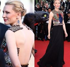 Cate Blanchett in Givenchy - Cannes 2014