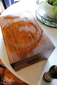 Great tip on how to remove watermarks and stains from wood furniture