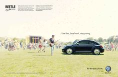 Volkswagen - Vive rápido, ama rápido, permanece joven