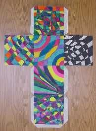 Op Art Cubes - Waunakee Community School District - Sophie Wagner-Marx