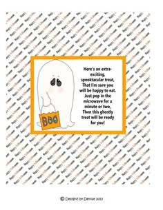 Popcorn wrapper printables ive made many from blank templates free halloween microwave popcorn wrapper pronofoot35fo Images