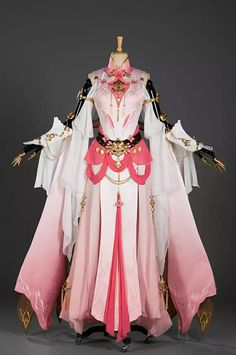 Cosplay Dress, Cosplay Outfits, Kawaii Fashion, Lolita Fashion, Mode Kpop, Fantasy Gowns, Anime Dress, Fashion Design Drawings, Japanese Outfits
