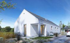 Ekonomiczny 2A - wizualizacja 1 - dom parterowy ekonomiczny w budowie