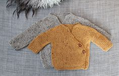 Olivia's wrap cardigan - Pickles adorable free pattern