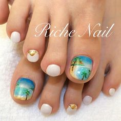 Nail Designs For Toes Gallery 51 adorable toe nail designs for this summer stayglam Nail Designs For Toes. Here is Nail Designs For Toes Gallery for you. Nail Designs For Toes nail art designs toes. Nail Designs For Toes pedicure toe . Teen Nail Designs, Toe Designs, Creative Nail Designs, Cute Nail Designs, Creative Nails, Beach Toe Nails, Cute Toe Nails, Summer Toe Nails, Toe Nail Art