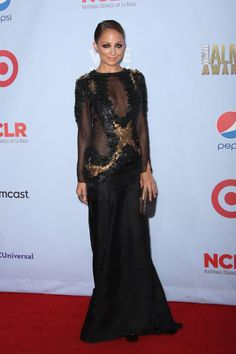 Nicole Richie looked fabulous at the ALMA Awards 2012