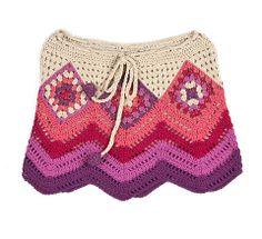 crochet skirt