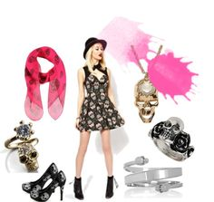 """Skull is everywhere"" by modayazilari on Polyvore"