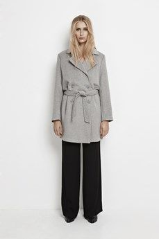 Samsoe & Samsoe Hoff Jacket 7210 Light Grey | closet | Pinterest ...