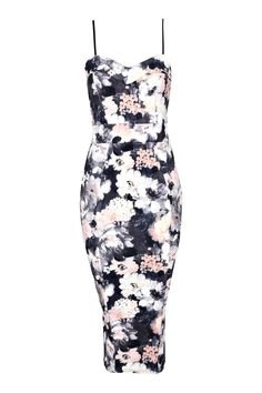 Edie Cami Sweetheart Floral Bodycon Dress