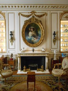 Drawing room, Hillwood Gardens