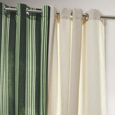 One of my favorite discoveries at WorldMarket.com: Forest Striped Gazebo Curtain