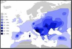 en.wikipedia.org/wiki/Haplogroup_I_(Y-DNA) Y-DNA Haplogroup I is predominantly a European haplogroup today. It represents nearly one-fifth of the population of Europe. It can be found in the majori…