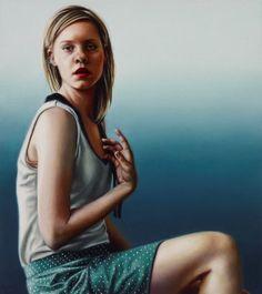Natasha Bieniek: Application :: Archibald Prize 2013 :: Art Gallery NSW