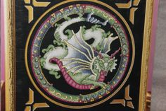 MYSTIC-DRAGON-II-cross-stitch-leaflet-StitchWorld Mystic Dragon, Dragon Cross Stitch, Cross Stitch Patterns, Magic, Fantasy, Painting, Ebay, Art, Art Background