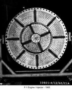 rocket engine injector plate in handling fixture Apollo Space Program, Nasa Space Program, Space Tourism, Space Travel, Rocket Motor, Nasa Engineer, American Space, Rocket Engine, Apollo Missions