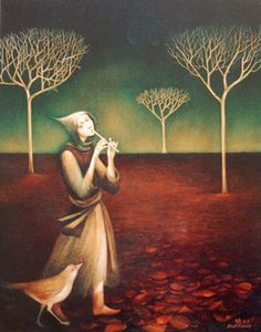 Autumn Serenade by Alla Tsank