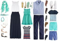 Planning: What to Wear for a Summer Family Portrait Session