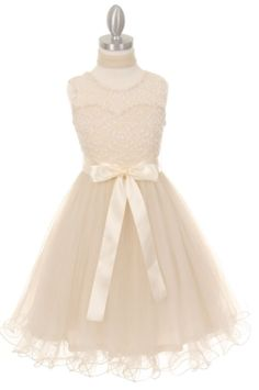 Elegant soft tulle Tween Dress has a wired hem with scarf and satin ribbon. This Ivory Tween Dress is so elegant with its lace bodice. Perfect for teenage dances, year 6 formals, Junior Bridesmaids.