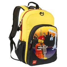 Znvora - LEGO Construction City Nights Heritage Classic Backpack, $30.99 (http://www.znvora.com/lego-construction-city-nights-heritage-classic-backpack/)