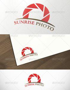 Sunrise Photography Premium Logo Template ...  agency, brand, business, company, corporate, dynamic, energy, hot, identity, logo, orange, organization, photo, photography, premium, professional, red, solar, studio, sun, sunrise, system, template, theme