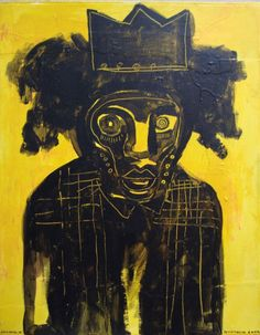 BLACK MAGIC, YELLOW VOODOO…Jean-Michel Basquiat, the mystico-modern painter source: pinterest.com