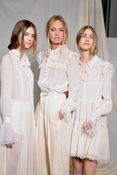 Ugh! Time travel with these dresses ;)  Philosophy Di Lorenzo Serafini A/W 2015-16