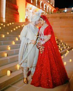 Christian Wedding Ceremony, Hindu Wedding Ceremony, Team Groom, Team Bride, Sabyasachi Lehenga Cost, Priyanka Chopra Wedding, Koffee With Karan, Silk Gown, Jonas Brothers