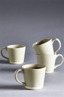 Set Of 4 Chiltern Mugs