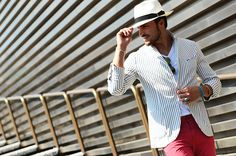 Nobody Knows Marc Mdv Style, Street Style Magazine, Italian Models, Panama Hat, Menswear, Mens Fashion, Blazer, Suits, Jackets