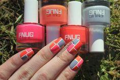 FNUG polish nail art