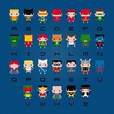 superhero cross stitch - Google Search