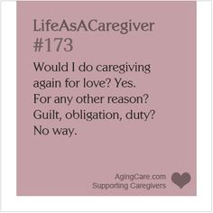 What compelled you to take on the role of caregiver for your loved one? When Do You Become a Caregiver? http://www.agingcare.com/157393 #LifeAsACaregiver