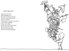 Another poem by Shel Silverstein, my favorite poet.