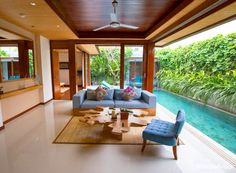 The Maca Villas & Spa is a collection of 23 luxurious, private villas in the… Small Backyard Pools, Backyard Pool Designs, Swimming Pools Backyard, Villa Design, House Design, Design Hotel, Design Design, Saint Claude, Small Villa