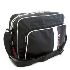 taška  sport Černá sportovní taška Bjorn Borg na zip. Uvnitř - místo na 12fe17cdb40