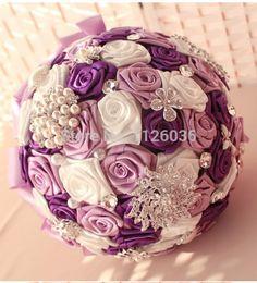 Настоятельно рекомендуется искусственного шелка розы кристалл букет невесты свадьба аксессуары жемчуг букет невесты держать цветок купить на AliExpress