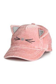 Velvet cap - Old rose - Kids Girls Accessories, Fashion Accessories, Stylish Caps, Unicorn Hat, Cap Girl, Bookmarks Kids, Cute Hats, H&m Online, Girls Bags