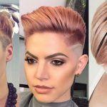 Rose Gold is een kleur die jij geprobeerd moet hebben in jouw korte haar!