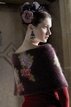 Ravelry: Berenice Wrap pattern by Marie Wallin