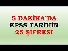 2018 KPSS Çıkması Muhtemel 100 Güncel Bilgi - 1. Bölüm - YouTube
