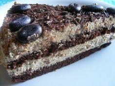 lúdanyó: Csokoládé torta kávés mascarpone krémmel és egy születésnap