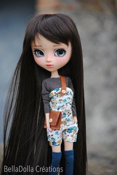 Luna : Pullip MIO full custo number 050 par BellaDollaCreations