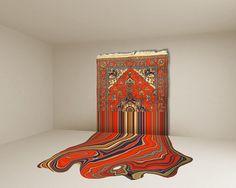 Azerbaijani artist Faig Ahmed draws from the rich tradition of...