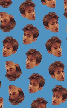 Nct 127 Mark, Mark Nct, Hey Bro, Aesthetic Pastel Wallpaper, I Wallpaper, Nct Dream, Blue Wallpapers, Husband, Cute